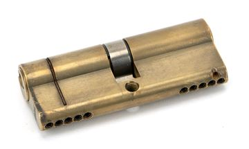 Picture of AGED BRASS 40/40 5PIN EURO CYLINDER