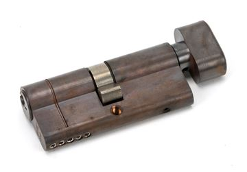 Picture of AGED BRONZE 35/35 5PIN EURO CYLINDER/THUMBTURN