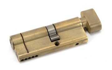 Picture of AGED BRASS 35T/45 5PIN EURO CYLINDER/THUMBTURN
