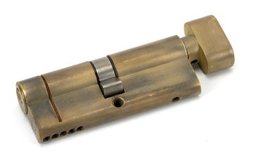 Picture of AGED BRASS 40/40 5PIN EURO CYLINDER/THUMBTURN KA