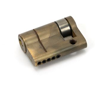 Picture of AGED BRASS 35/10 5PIN SINGLE CYLINDER