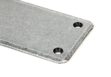 Picture of PEWTER 1800MM PLAIN FINGERPLATE