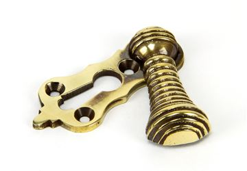 Picture of AGED BRASS BEEHIVE ESCUTCHEON
