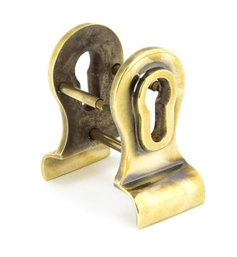 Picture of AGED BRASS 50MM EURO DOOR PULL (BACK TO BACK FIXINGS)