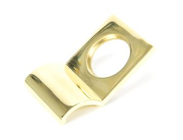 Picture of POLISHED BRASS RIM CYLINDER PULL