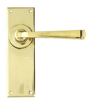 Picture of AGED BRASS AVON LEVER LATCH SET