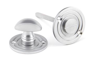 Picture of SATIN CHROME ROUND BATHROOM THUMBTURN