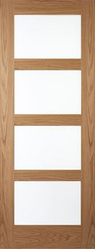 Picture of OAK CONTEMPORARY 4-LIGHT LACQUERED (EOL)