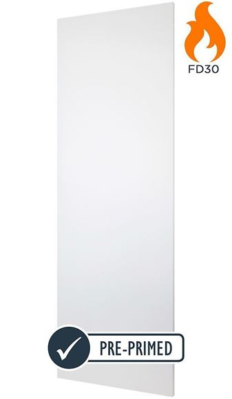 Picture of FLUSH WHITE FIRE DOOR (FD30)