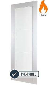 Picture of DAVOS WHITE 1-LIGHT FIRE DOOR (FD30)
