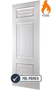 Picture of SHELBOURNE WHITE FIRE DOOR (FD30 - BESPOKE)