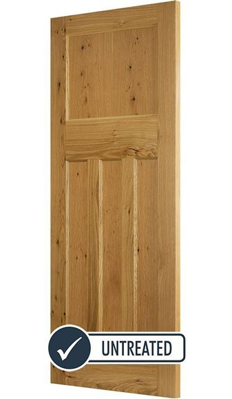 Picture of DX 1930's RUSTIC OAK