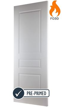 Picture of CLASSIC 3-PANEL OS FIRE DOOR (FD30 - BESPOKE)