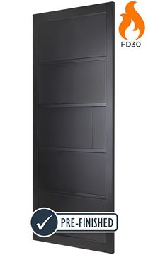 Picture of ODENSE BLACK FIRE DOOR (FD30)